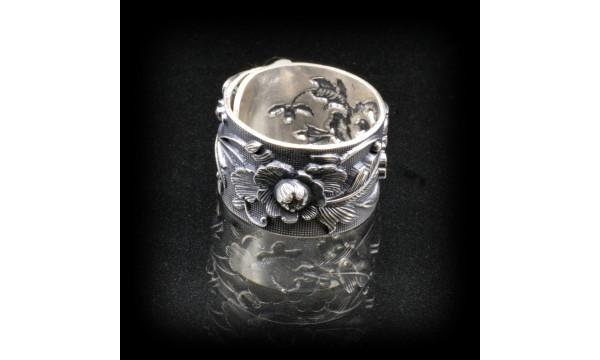 Žiedas sidabro